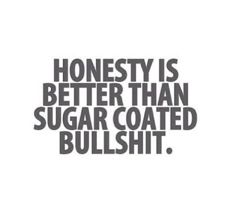 honesty is better